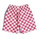 シェフパンツ Chef Pants Short Checker Pink