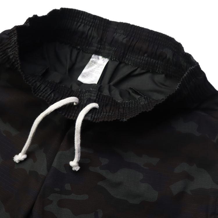 シェフパンツ Chef Pants Short Ripstop Camo Black (Woodland)