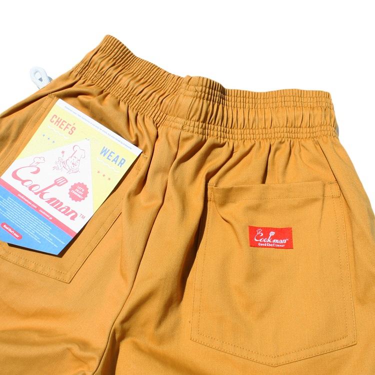 シェフパンツ Chef Pants Short Mustard
