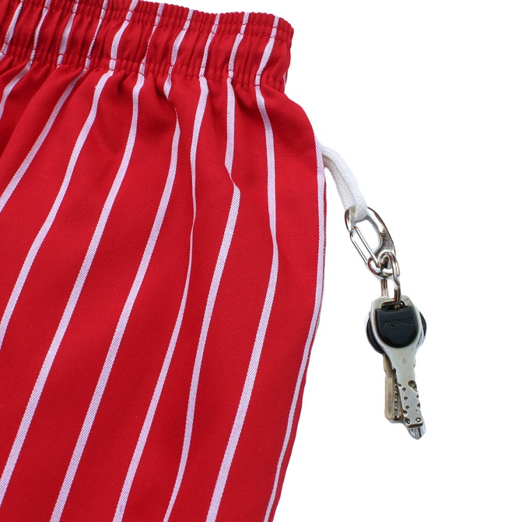 Chef Short Pants「Stripe」 Red