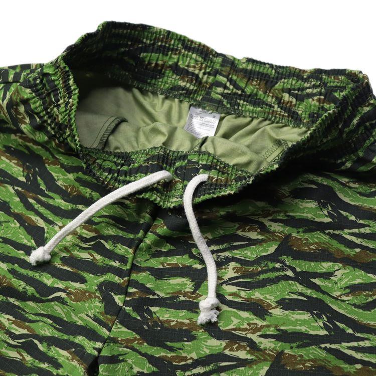 シェフパンツ Chef Pants Short Ripstop Camo Green (Tiger)