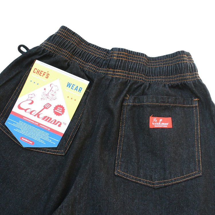 Chef Pants 「DENIM」 Black