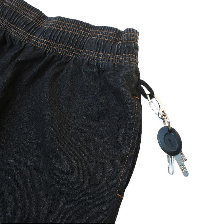 シェフパンツ Chef Pants DENIM Black