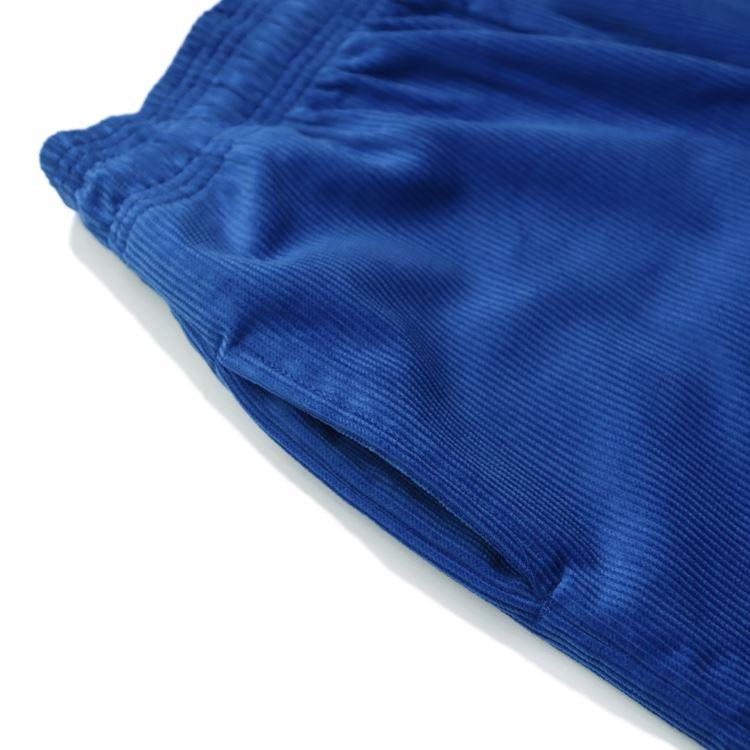 シェフパンツ Chef Pants Short Corduroy  Royal Blue