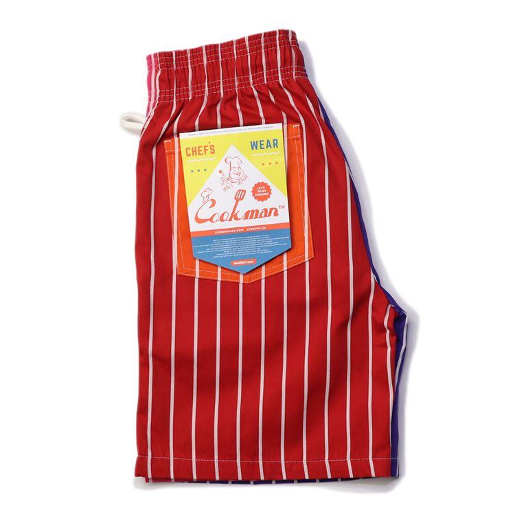 シェフパンツ Chef Pants Short Crazy Pattern Hot