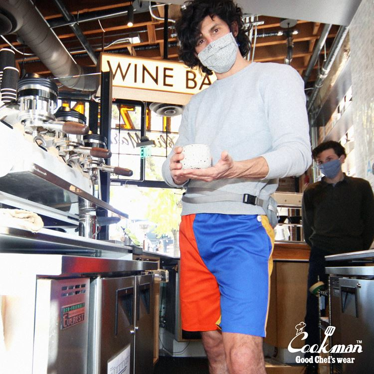 シェフパンツ Chef Pants Short Crazy Pattern Party
