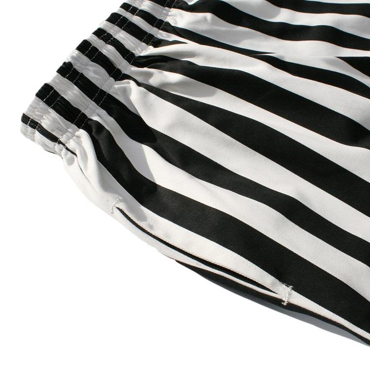 Chef Pants Kids 「Wide Stripe」 Black