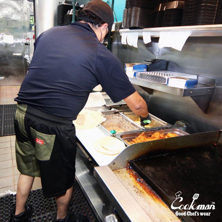 シェフパンツ Chef Pants Short Crazy Pattern Chill