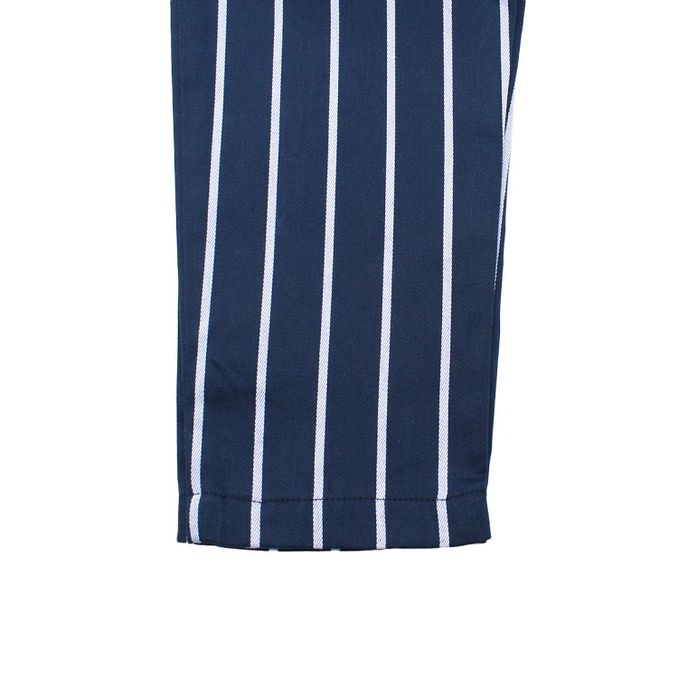 Chef Pants Kids 「Stripe」 NAVY