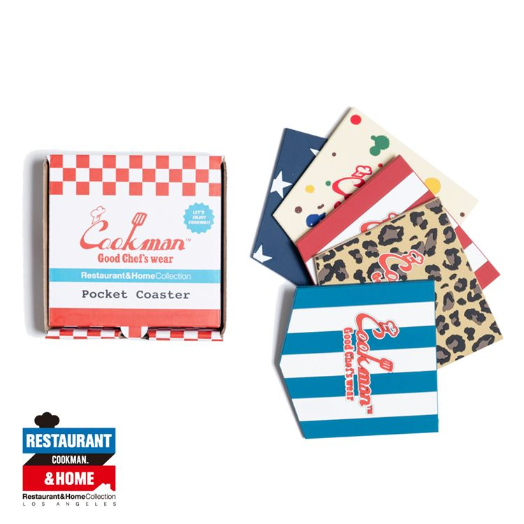 Pocket Coaster  「Color」 Set