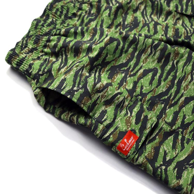 シェフパンツ Chef Pants Short Cargo Ripstop Camo Green (Tiger)