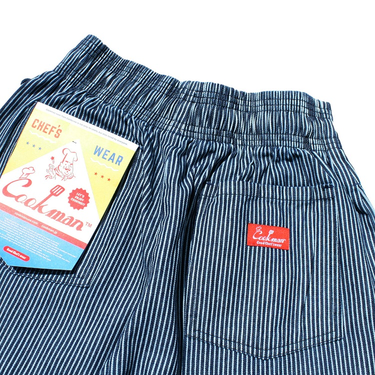 シェフパンツ Chef Pants Short Hickory