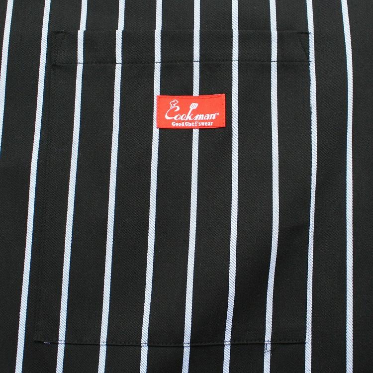 Waist Apron 「Stripe」 Black