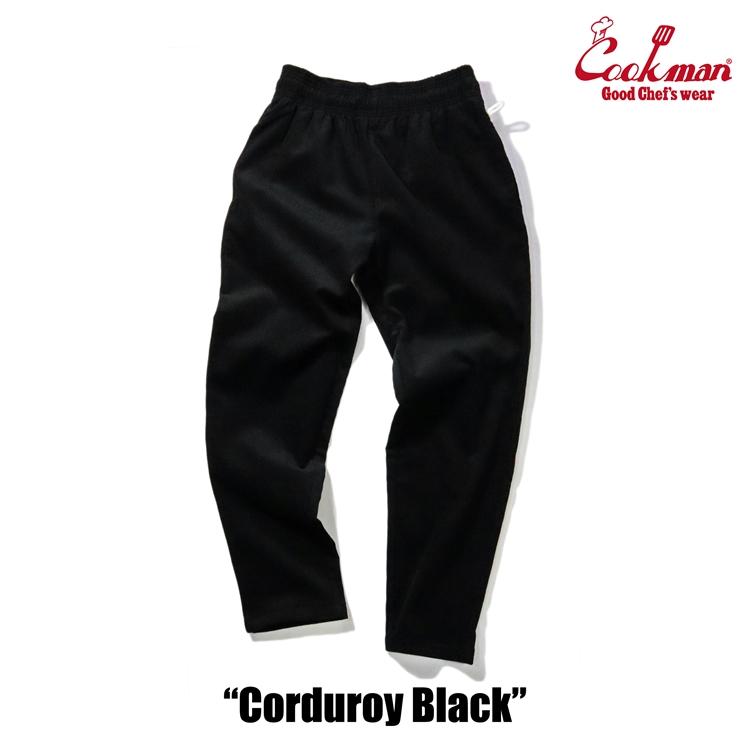 Chef Pants 「Corduroy」 Black