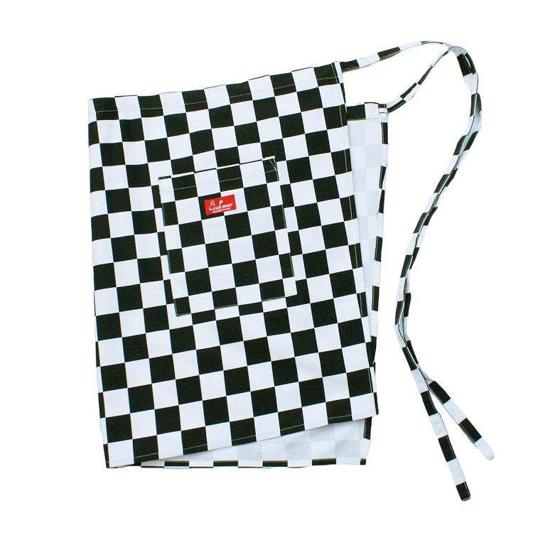 ウエストエプロン Waist Apron Checker