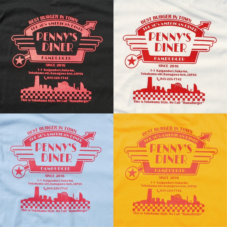 T-shirts 「PENNY's DINER」 (COUPON TEE)