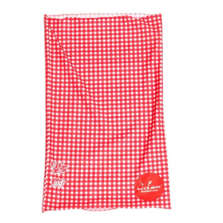 Chef's Scarf  「Gingham」 Red