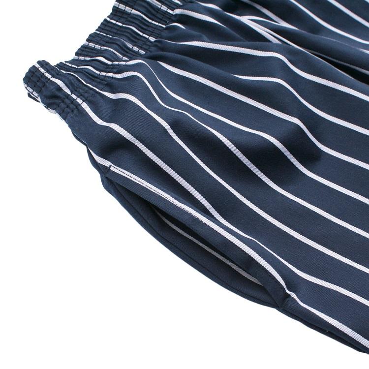 Chef Pants 「Stripe」 NAVY
