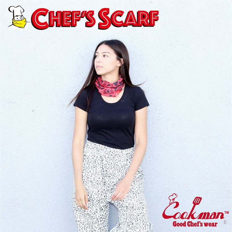 Chef's Scarf  「Camo Red」 (Duck Hunter )