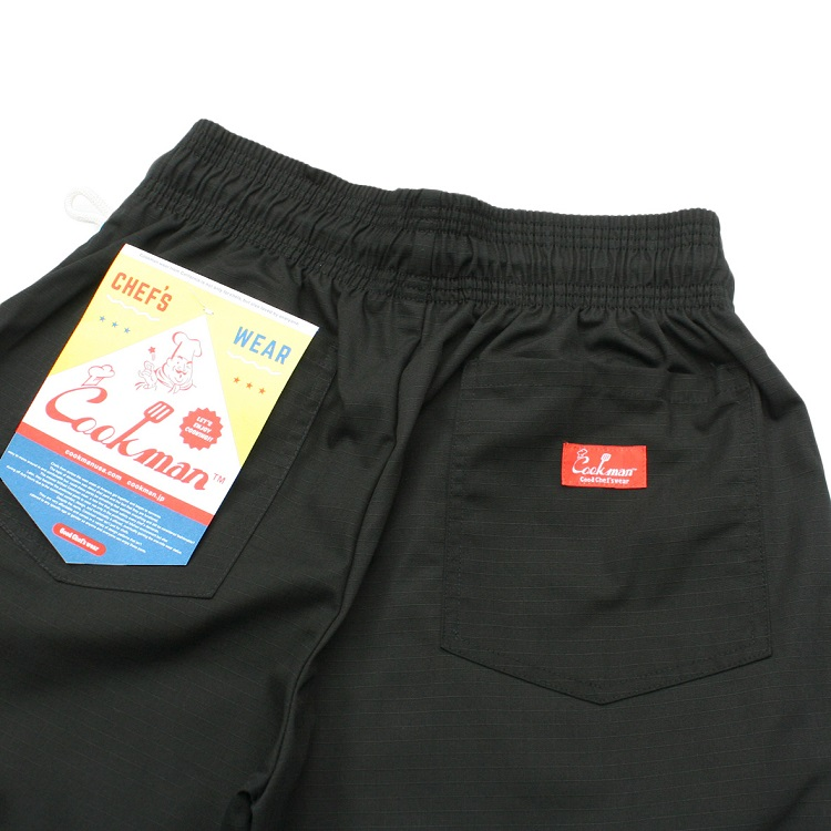 シェフパンツ Chef Pants Ripstop Black