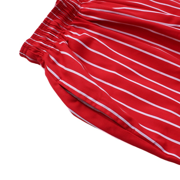Chef Pants 「Stripe」  RED