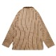 Lab.Jacket 「Wool mix Stripe」 Beige