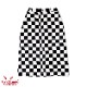 スカート Baker's Skirt Checker Black