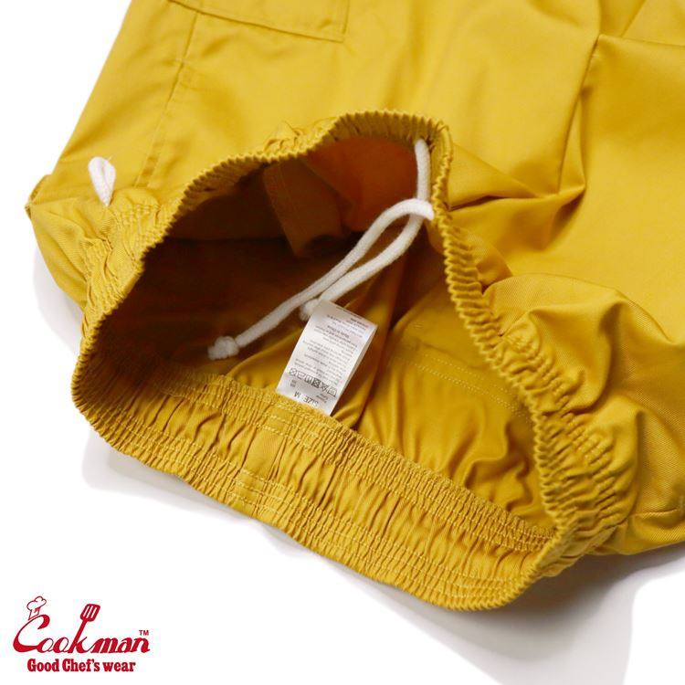 シェフパンツ Chef Pants Short Cargo Mustard