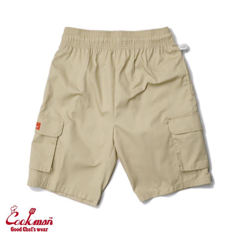 シェフパンツ Chef Pants Short Cargo Sand