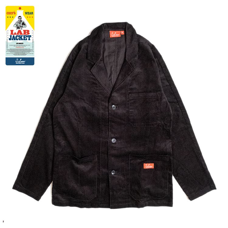 Lab.Jacket 「Corduroy」 Black