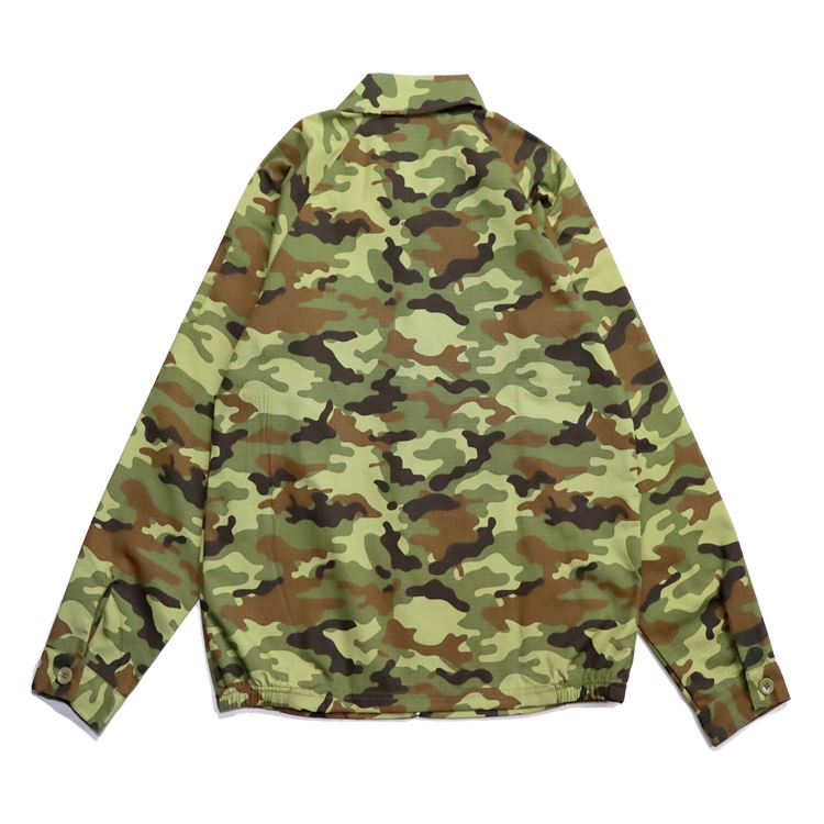 Delivery Jacket 「Ripstop」 Camo Green (Woodland)