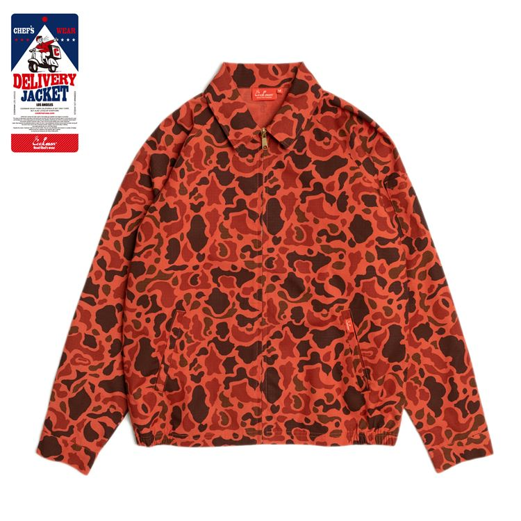 Delivery Jacket 「Ripstop」 Camo Red (DuckHunter)