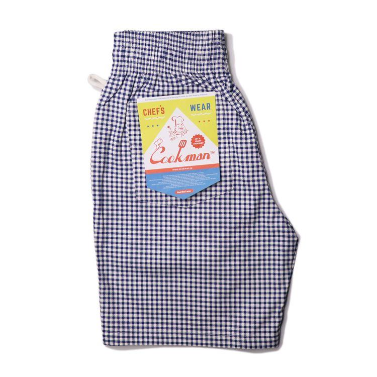 シェフパンツ Chef Pants Short Gingham