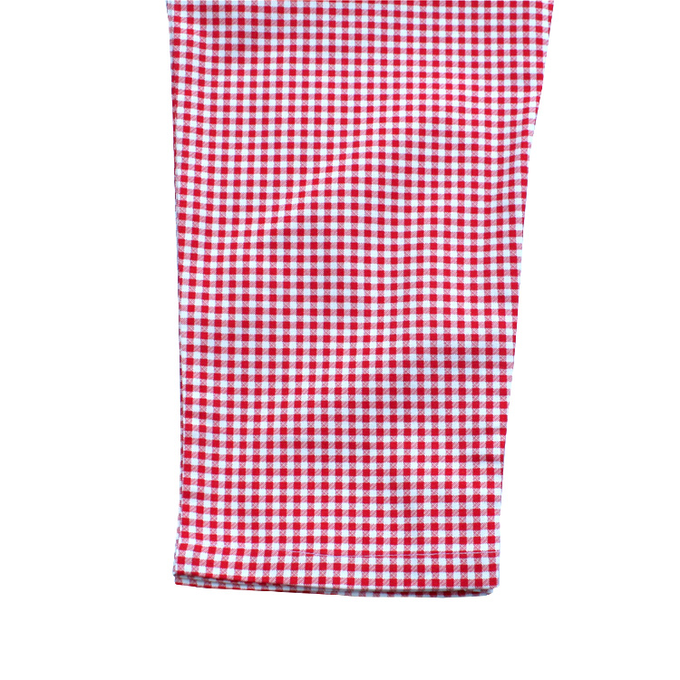 Chef Pants 「Gingham」 Red