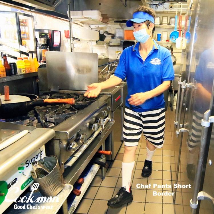 Chef Short Pants 「Border」