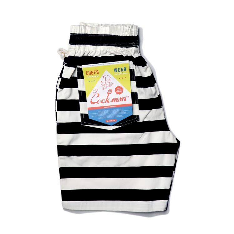 シェフパンツ Chef Pants Short Border