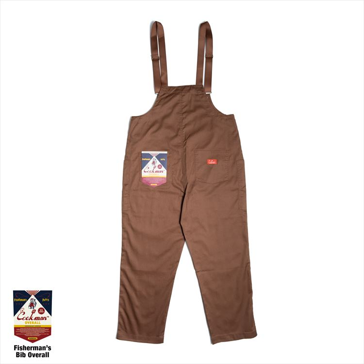 オーバーオール Fisherman's Bib Overall Chocolate