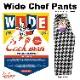 ワイドシェフパンツ Wide Chef Pants Chidori