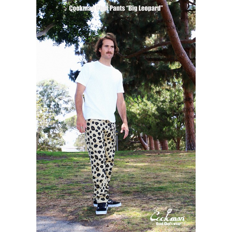 Chef Pants 「Big Leopard」