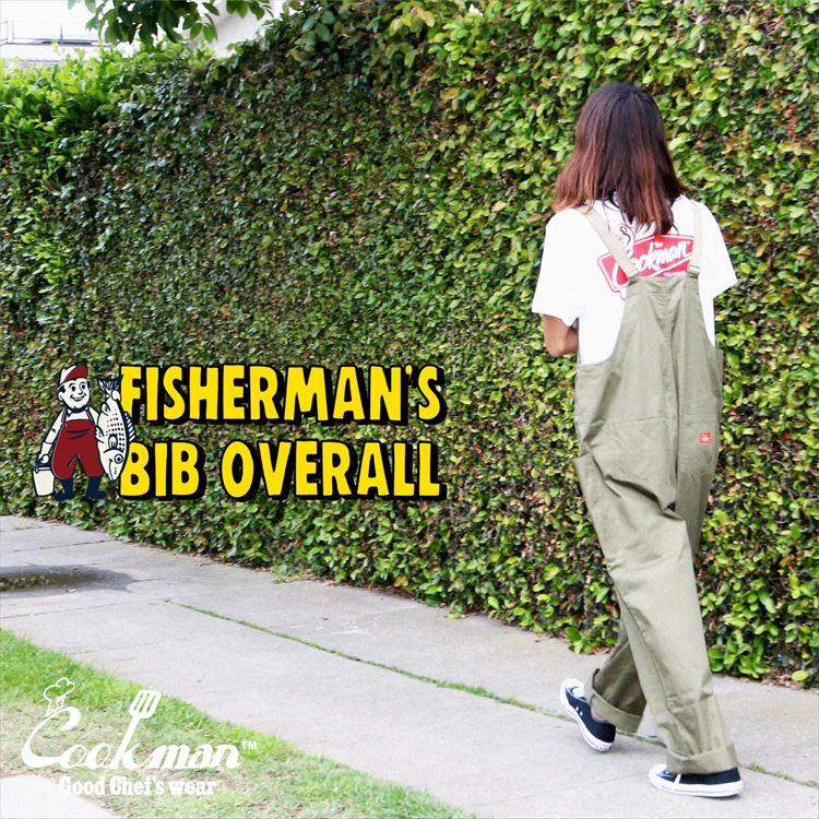 オーバーオール Fisherman's Bib Overall Khaki