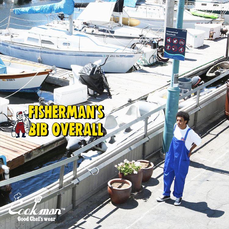 Fisherman's Bib Overall 「Deep Blue」