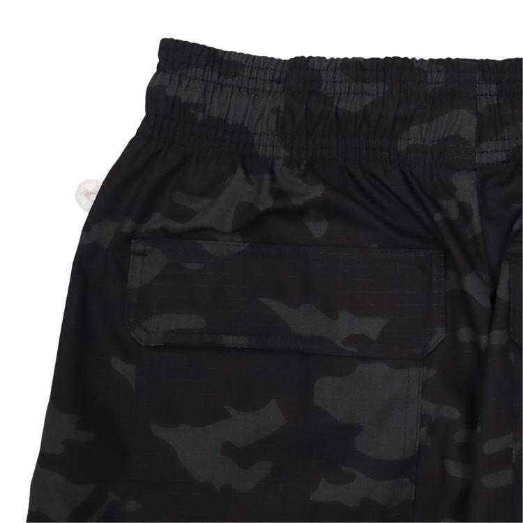 Chef Cargo Pants 「Ripstop」 Black (Woodland)