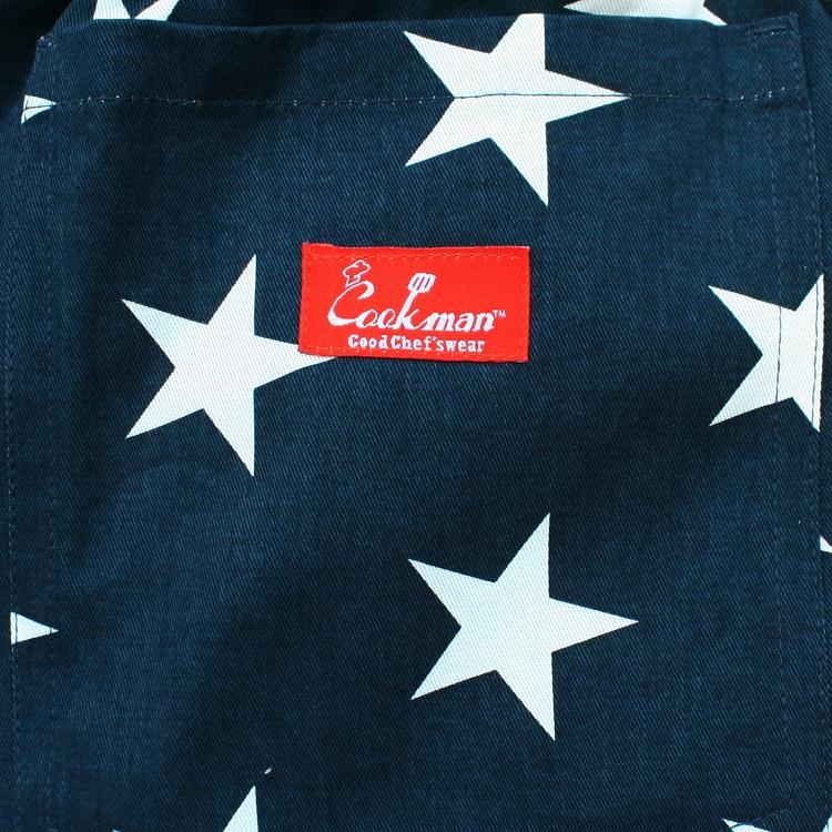 Chef Pants 「Star」 Navy