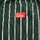 Chef Pants 「Stripe」 DARK GREEN BIG SIZE