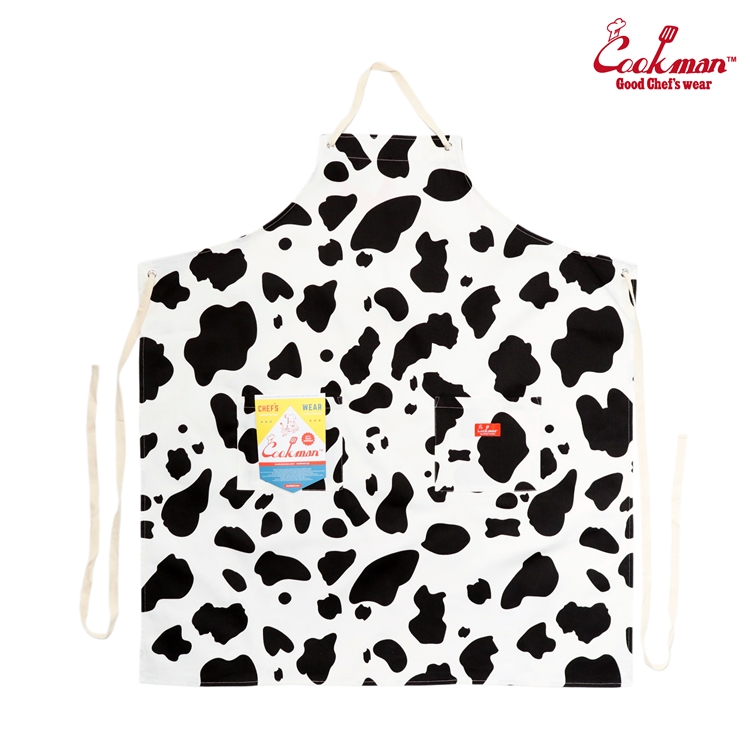 ロングエプロン Long Apron Cow