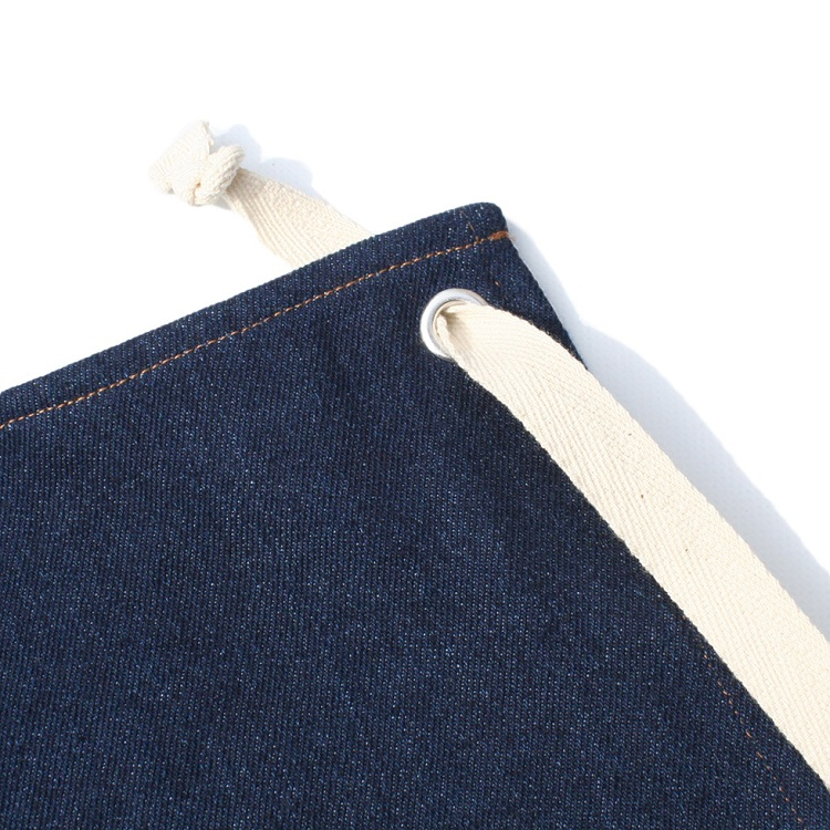 Long Apron 「Denim」 Navy