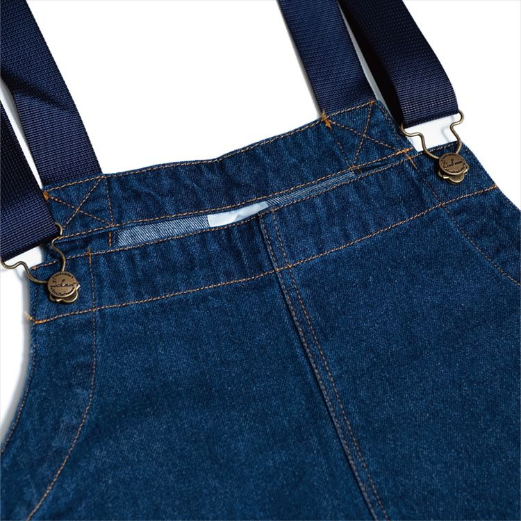 Fisherman's Bib Overall 「Denim」 Navy