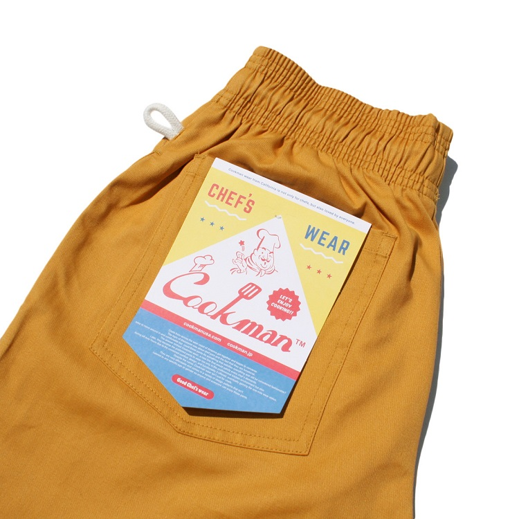 Chef Pants 「Mustard」 BIG SIZE
