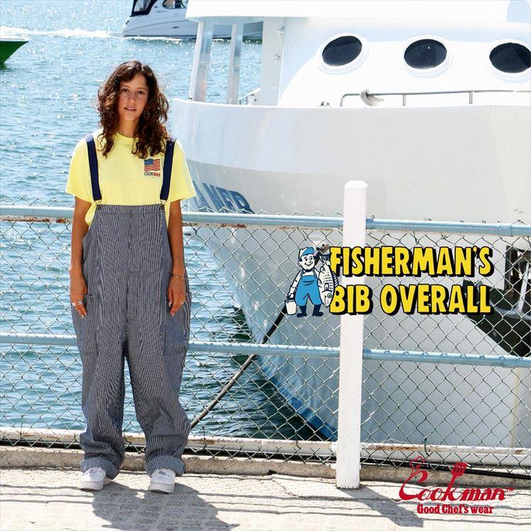 オーバーオール Fisherman's Bib Overall Hickory