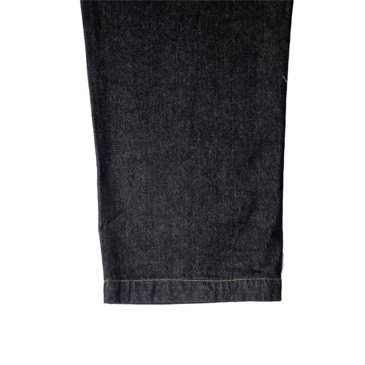 オーバーオール Fisherman's Bib Overall Denim Black
